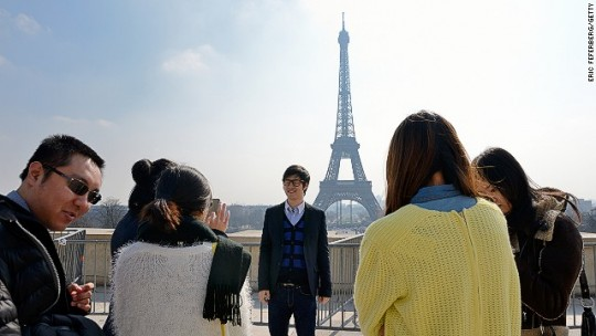 The boom of Chinese tourists