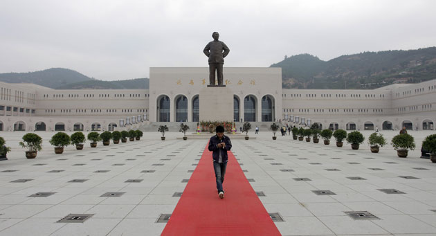"""The """"Red Tourism"""" is booming in China."""
