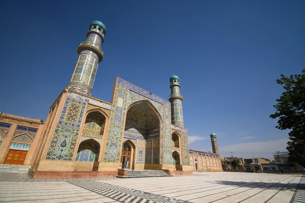 Blue Mosque of Mazar-e Sharif Afghanistan - Tourist